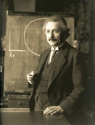 Albert Einstein, Wiedeń, rok 1921 / Credits: Albert Einstein Archives / Ferdinand Schmutzer