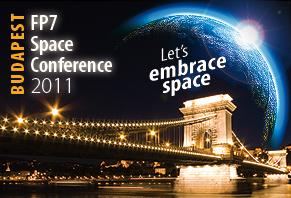 Logo konferencji Let's Embrace Space 2011 / Credits: UE
