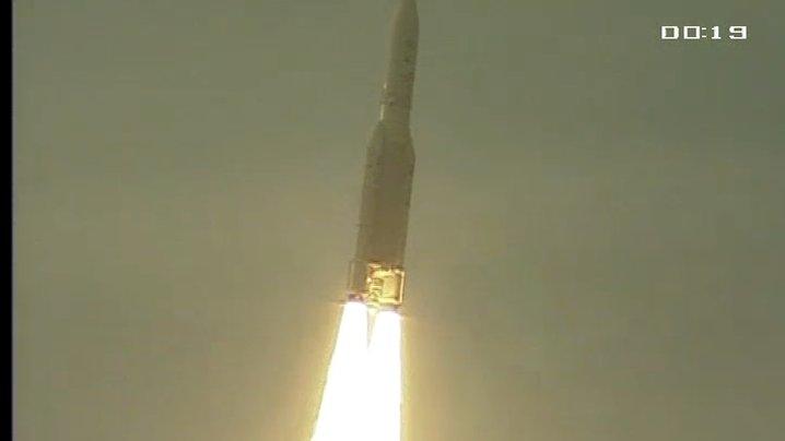 Chwilę po starcie / Credits - ArianeSpace