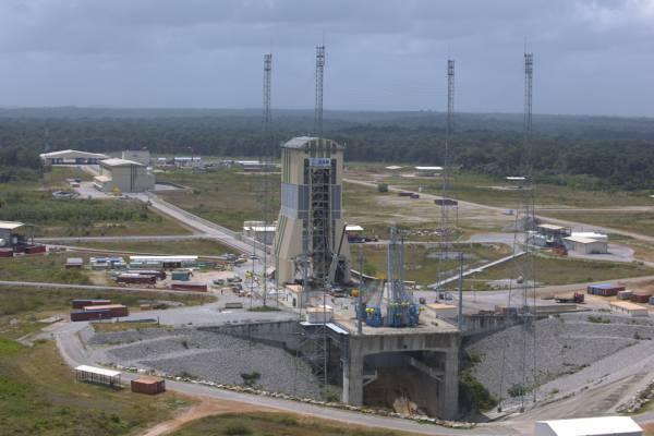 Nowy kompleks startowy dla rosyjskich rakiet Sojuz w Gujanie Francuskiej / Credits: ESA