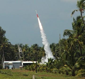 Start RH-200, 7 lipca 2010 / Credits: ISRO