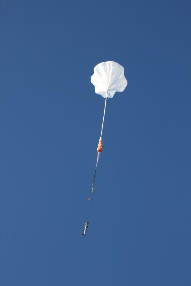 Unoszący się balon z ładunkiem JAXA / Credits: SSC