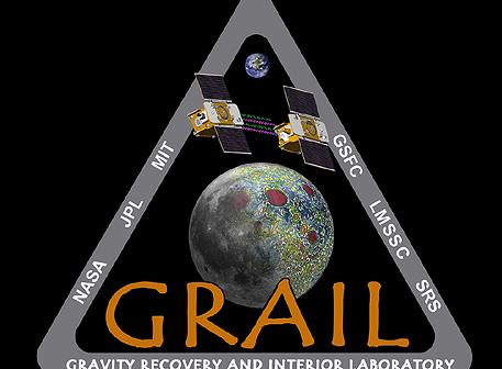 Emblemat misji GRAIL / Credits: NASA