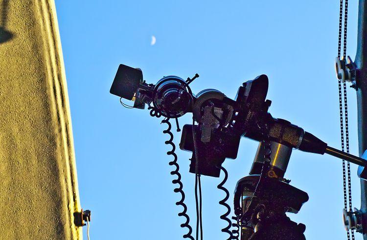 Obserwacje Księżyca / fot. Aleksander Kurek