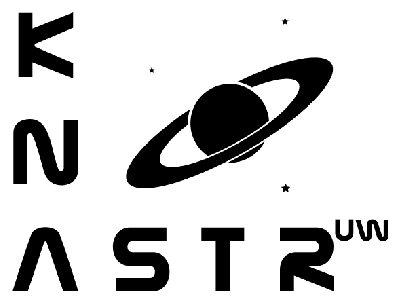 Logo Koła Naukowego Astronomów Uniwersytetu Warszawskiego