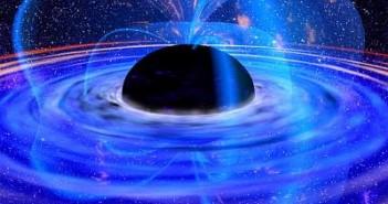 Czarna dziura - wizja artystyczna / Credits - NASA