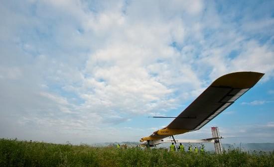 Lot Payerne-Bruksela. Credit: Solar Impulse/Jean Revillard/Rezo.ch