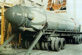 Jedno z niewielu dostępnych zdjęć rakiety Siniewa (źródło nieznane)