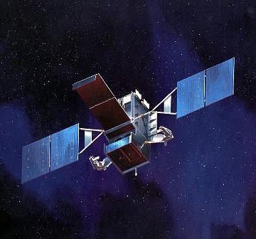 Wizja artystyczna satelity SPIRS-GEO 1 / Credits - Lockheed Martin