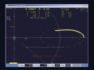 09:03 CEST - Endeavour ponownie zbliża się do ISS / Credits -NASA TV