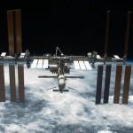 Międzynarodowa Stacja Kosmiczna widziana z wahadłowca Endeavour w czasie wykonywania manewru oblotu. Budowa amerykańskiej częściej Stacji ISS została zakończona w czasie misji STS-134 / Credits: NASA
