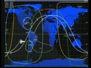 06:37 CEST - Endeavour u wybrzeży Ameryki Południowej / Credits - NASA TV