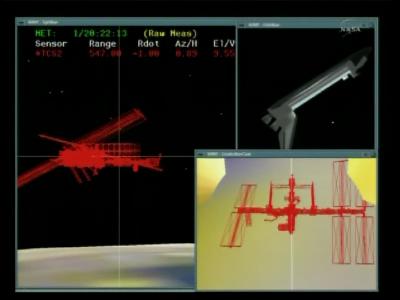 Manewr RPM w toku (NASA)
