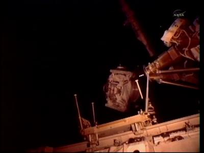 Przenosiny spektrometra w toku (NASA)