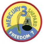 Logo misji Mercury-Redstone 3 (NASA)