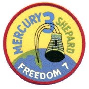 Logo misji Mercury-Redstone 3 (NASA)