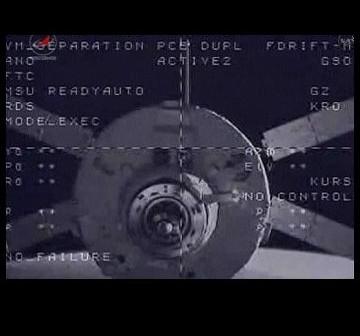 ATV-2 chwilę po odłączeniu od ISS / Credits - NASA