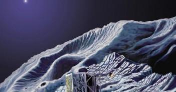 Orbiter Rosetta i lądownik Philae - wizja artystyczna (ESA)