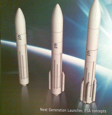 Koncepcja nowej rakiety nośnej ESA / Credits - Kosmonauta.net