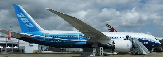 Boeing 787 Dreamliner - nowy samolot pasażerski / Credits - K. Kanawka