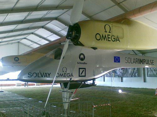 Samolot SolarImpulse / Credits - K. Kanawka