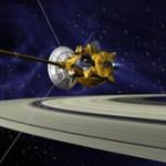 Cassini i Saturn - wizja artystyczna / Credits: NASA