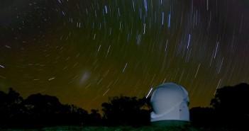 Gwiazdy nad obserwatorium Solars / Credits - Projekt Solaris