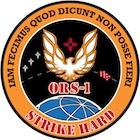 Emblemat misji ORS-1 / Credits: USAF