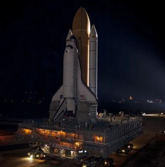 Ostatni transport wahadłowca kosmicznego na wyrzutnię startową LC-39 (NASA)