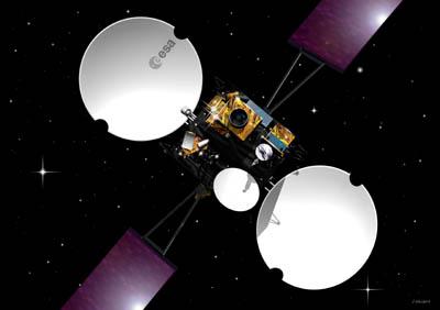 Satelita Artemis / Credits: ESA - J.Huart