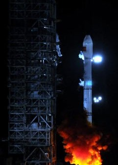 Rakieta CZ-3C wynosi Tian Lian-1B / Credits - China News, Xinhua