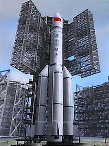 Tak będzie wyglądać rakieta Chang Zheng 5 / Credits – CASC