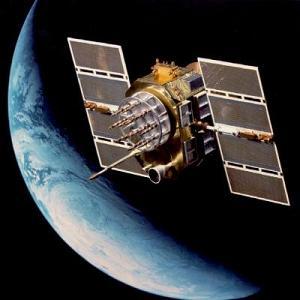 Satelita konstelacji Beidou - wizualizacja / Credits: Xinhua