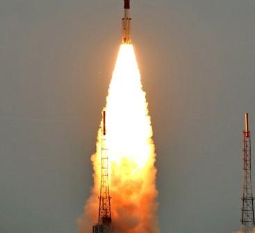 Start rakiety PSLV-XL - 15 lipca 2011 / Credits - ISRO