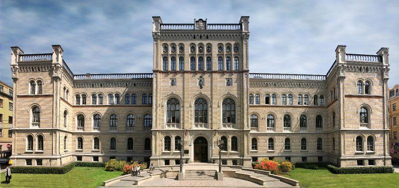 Budynek Uniwersytetu Łotweskiego, miejsca w którum odbędzie się międzynarodowy dzień informacyjny / Credits: Uniwersytet Łotewski