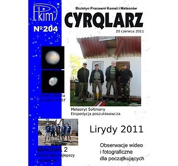 Okładka Cyrqlarza 204 / Credits - PKIM