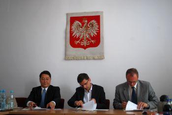 Podpisanie porozumienia z KIAT / Credits: Ministerstwo Gospodarki