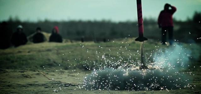 Start jednej z rakiet, Fot. Marek Krempa, Credits - PTR