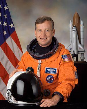 Steven Lindsey - były astronauta NASA pracuje w SNC / Credits - NASA