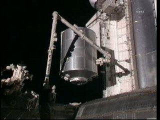 Przenosiny MPLM / Credits - NASA TV