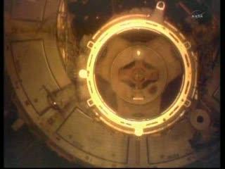 Węzeł cumowniczy PMA-2 / Credits: NASA TV