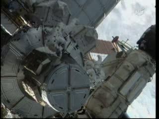 Początek spaceru EVA-1 / Credits: NASA TV