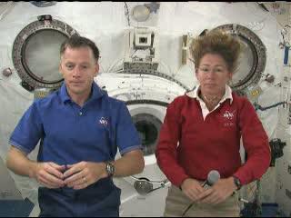 Wywiady dla stacji radiowych i tv / Credits - NASA TV