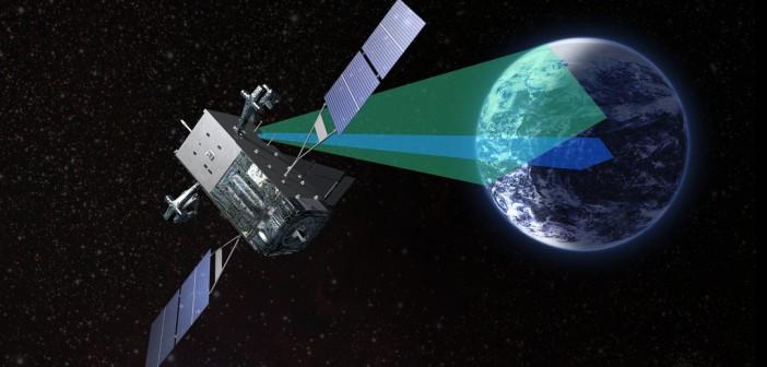 SBIRS GEO-1 - wizja artystyczna / Credits: Lockheed Martin