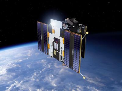 Proba-2 na orbicie - wizja artystyczna / Credits: ESA