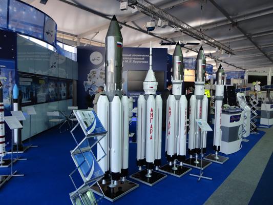 Rodzina konstruowanych rakiet Angara / Źródło: Zakłady Chruniczewa
