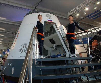 Model projektowanej kapsuły statku Ruś – następcy zasłużonego Sojuza / Źródło: Radikal Foto