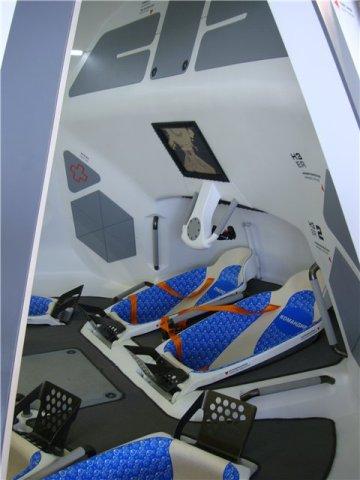 Wnętrze kapsuły statku Ruś / Źródło: Radikal Foto