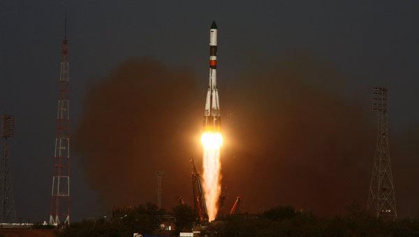 Start rakiety Sojuz ze statkiem Progress, 24 sierpnia 2011 / Credits: RIA Nowosti