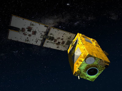Wizualizacja satelity VNREDSAT-1A / Credits: EADS Astrium
